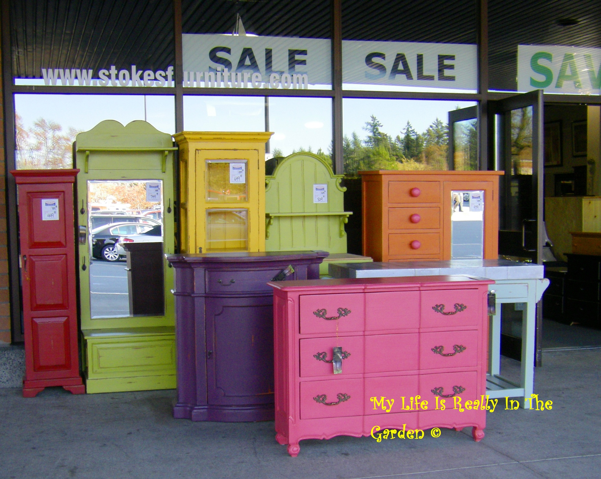 i bright painted furniture