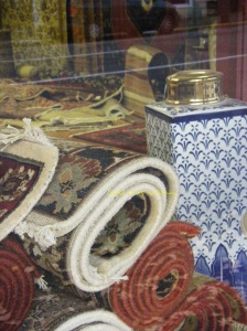 And close by .. was this wonderful shop with luxurious carpets