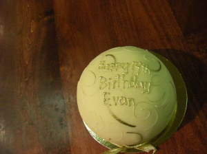 Happy Birthday dear Evan!!!  14 years old .... Happy Birthday to You!!